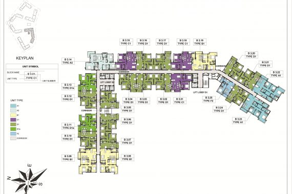 Căn Hộ Block B Khu Emerald Celadon City